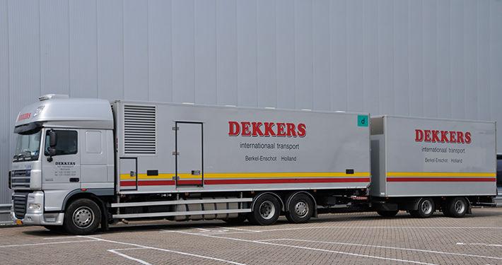 DAF Day-old Chick Vehicle fjærkre transport lastebil