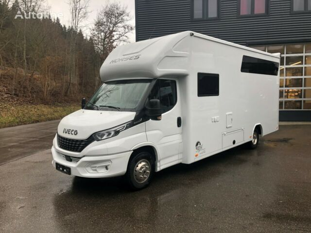 ny IVECO Pferdetransporter hestelastebil