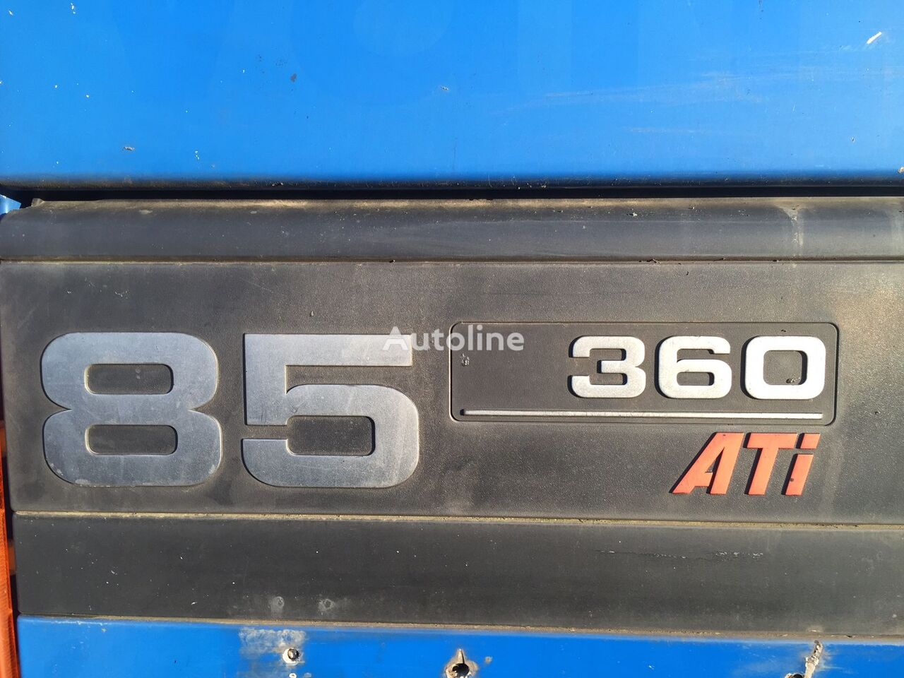 DAF 85 CF  6x4  FULL STEEL krokløftbil