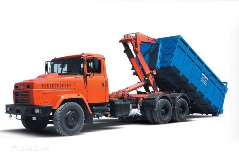 ny KRAZ 65053 MPR-1  krokløftbil