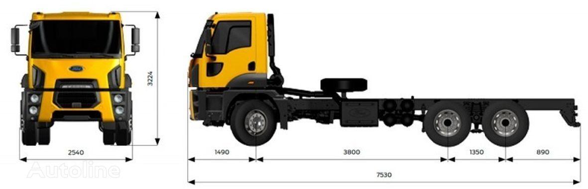 ny FORD Trucks 4142M  lastebil chassis