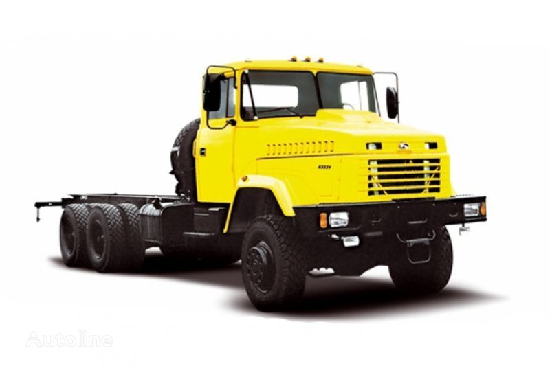 ny KRAZ 63221 tip 2 lastebil chassis