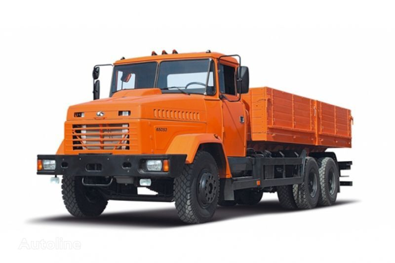 ny KRAZ 65053 lastebil flatbed