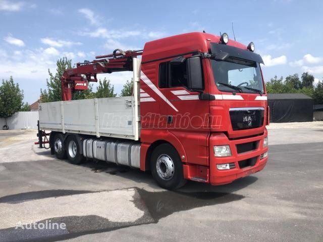 MAN TGX 26440 EU5 6X2 BOGI DARU 20m/300kg!! lastebil flatbed