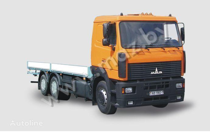 ny MAZ 6312 A5 lastebil flatbed