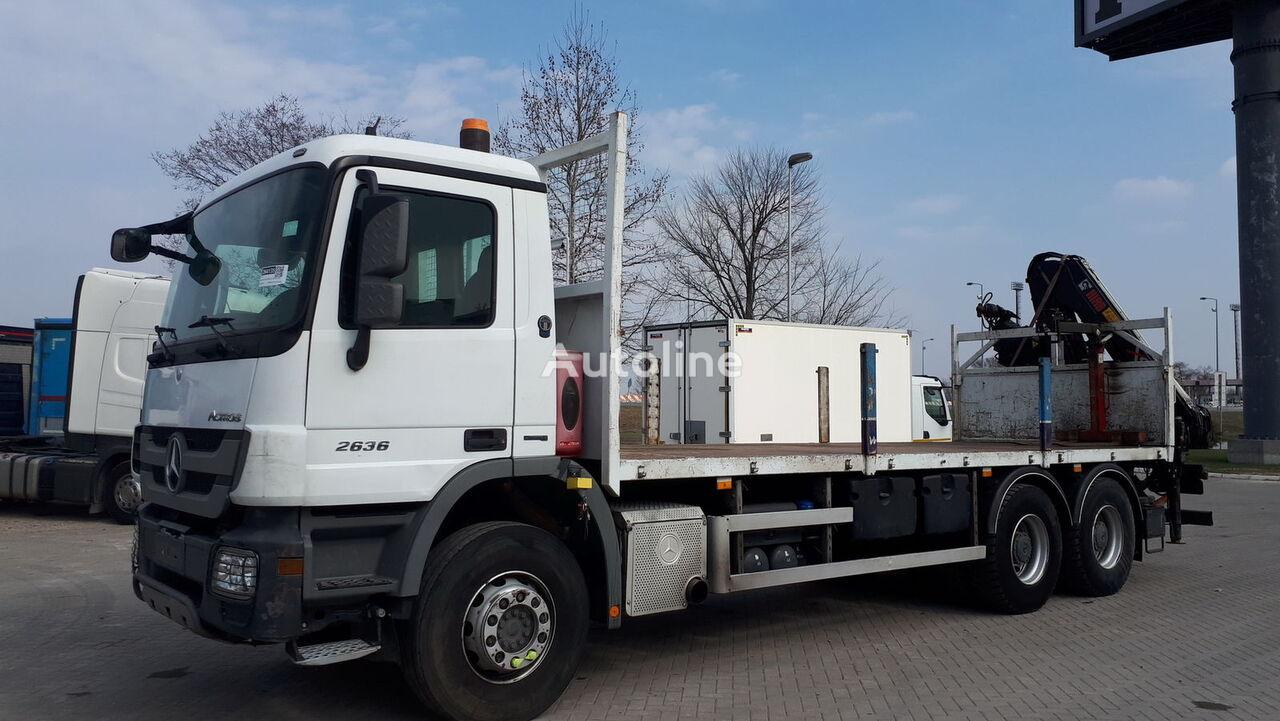 MERCEDES-BENZ 2636 6x4 lastebil med kabelsystem