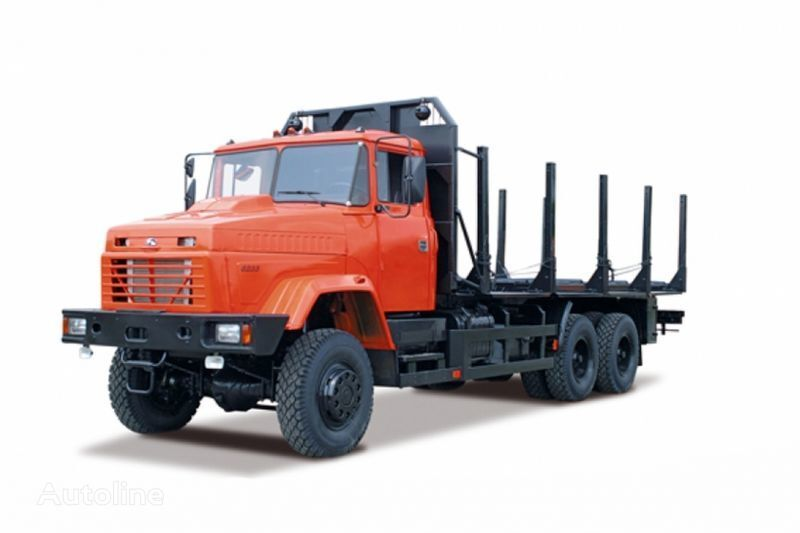 ny KRAZ 6233M6  lastebil tømmertransport