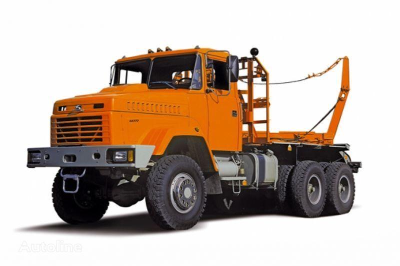 ny KRAZ 64372 tip 2  lastebil tømmertransport