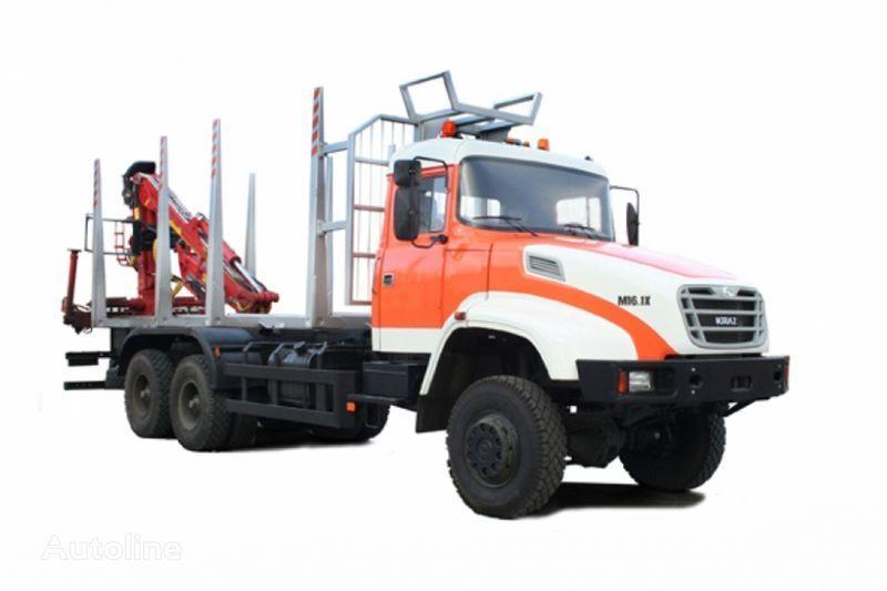 ny KRAZ M16.1H lastebil tømmertransport