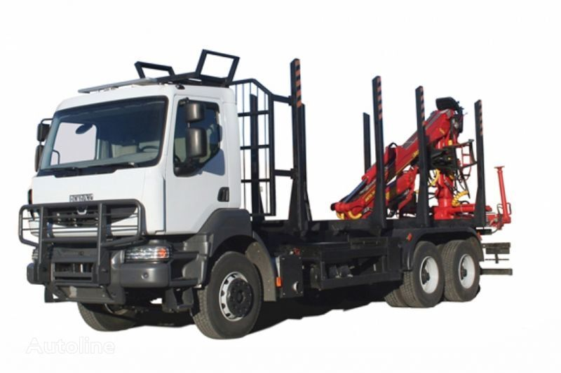 ny KRAZ M19.2R  lastebil tømmertransport