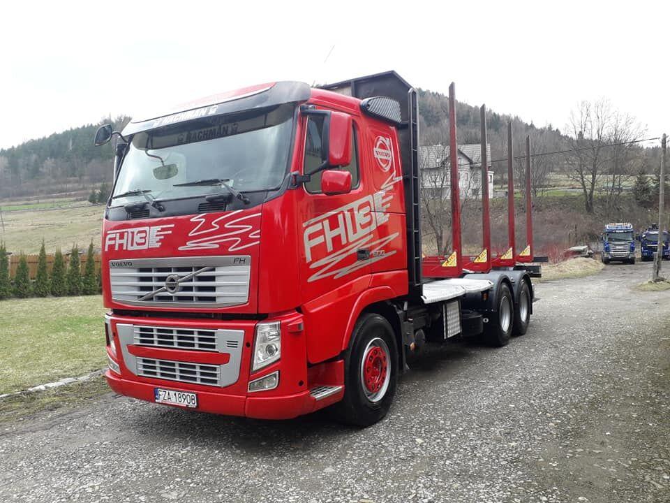 VOLVO FH13 500ps Euro5 6x4 lastebil tømmertransport
