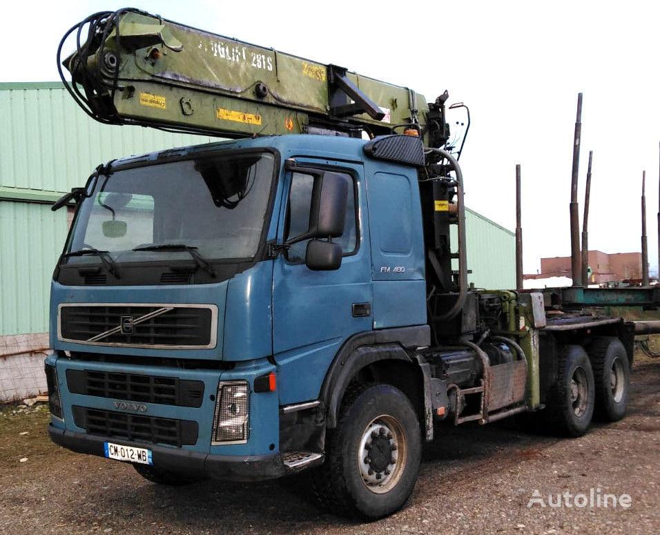 VOLVO FM 480 6x6 for wood transport lastebil tømmertransport