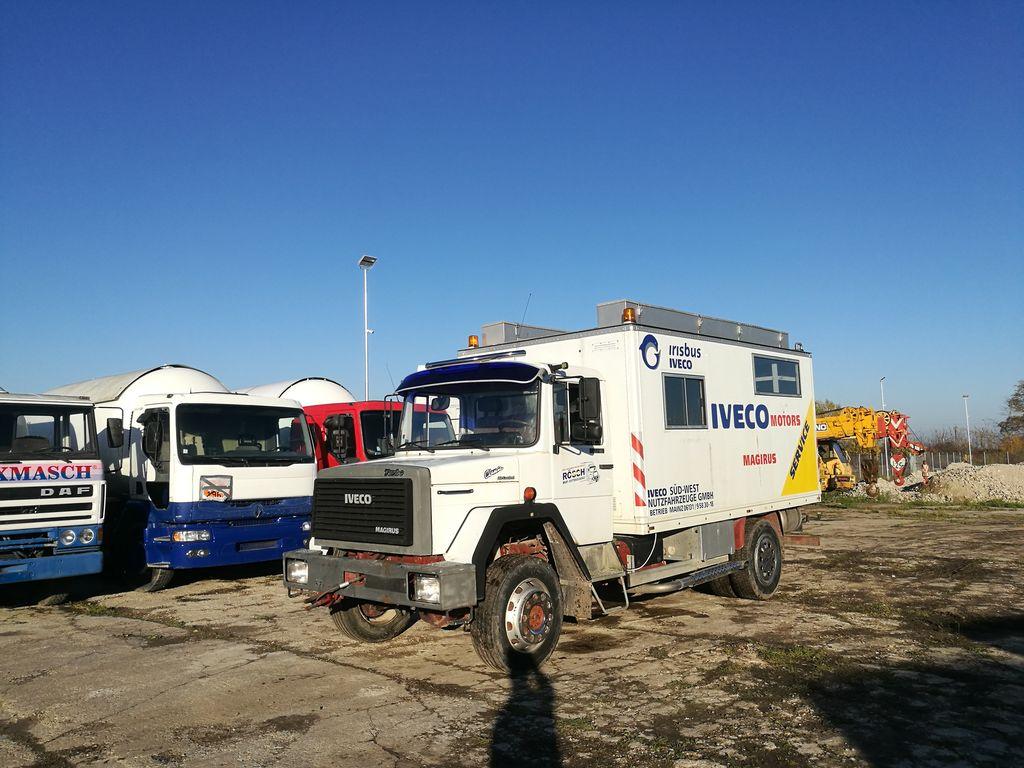 IVECO 120E16 4x4  lastebil varebil