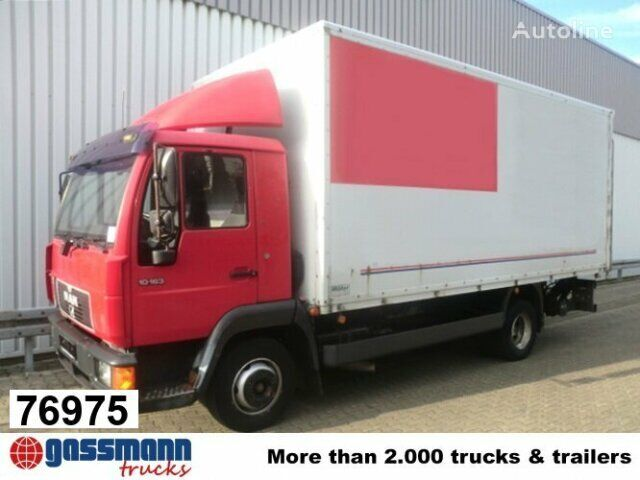MAN L35 / 10.163 / Dachspoiler/NSW lastebil varebil