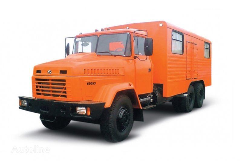 ny KRAZ 65053 masterskaya  militær lastebil