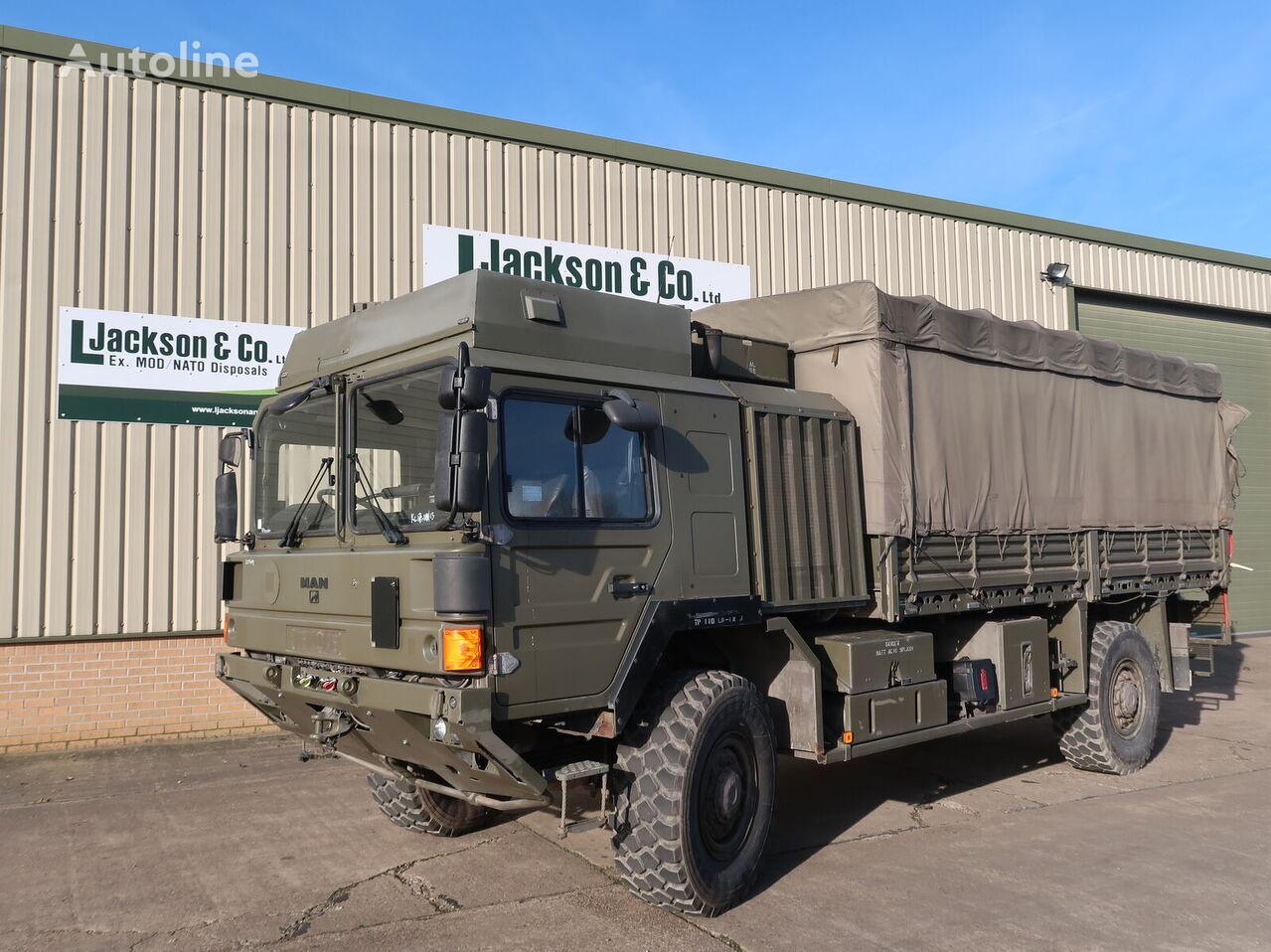 MAN HX60 18.330 4x4 Army Truck  militær lastebil