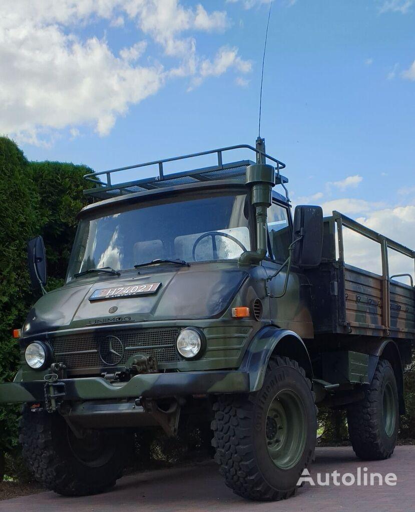 MERCEDES-BENZ UNIMOG 416 militær lastebil