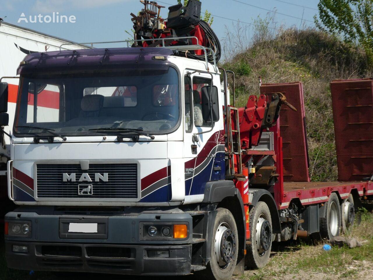 MAN F2000 35.401 SILENT plattform lastebil