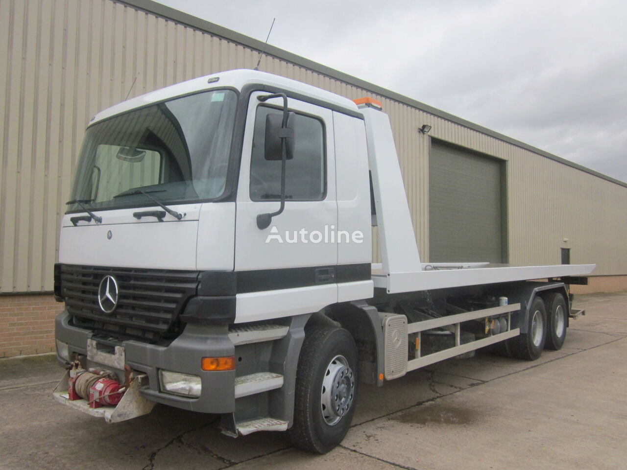 MERCEDES-BENZ Actros Recovery Truck  tauebil