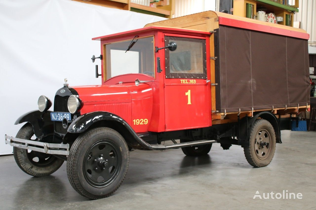 FORD 1929 MODEL AA tilt lastebil