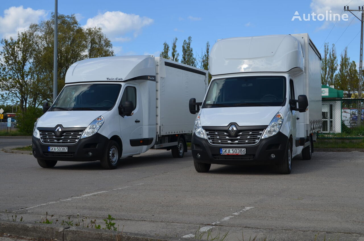 ny RENAULT Master 8EP TwinCab (Fridge & Table) tilt lastebil