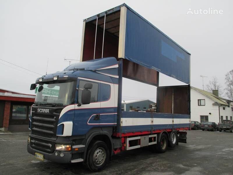 SCANIA R 500 tilt lastebil