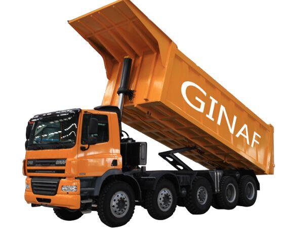 ny GINAF HD 5380 T Made by DAF tippbil