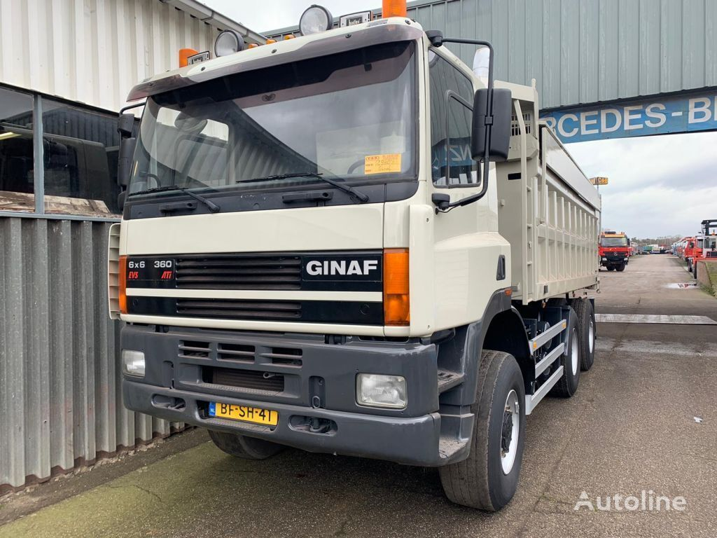 GINAF M 3335-S / 6x6 tippbil