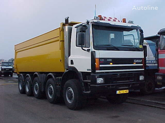 GINAF M 5450 10x8 tippbil