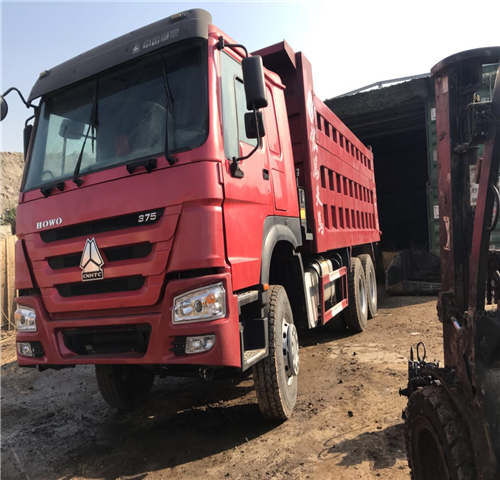 HOWO HOWO 6X4 375HP dump truck tippbil