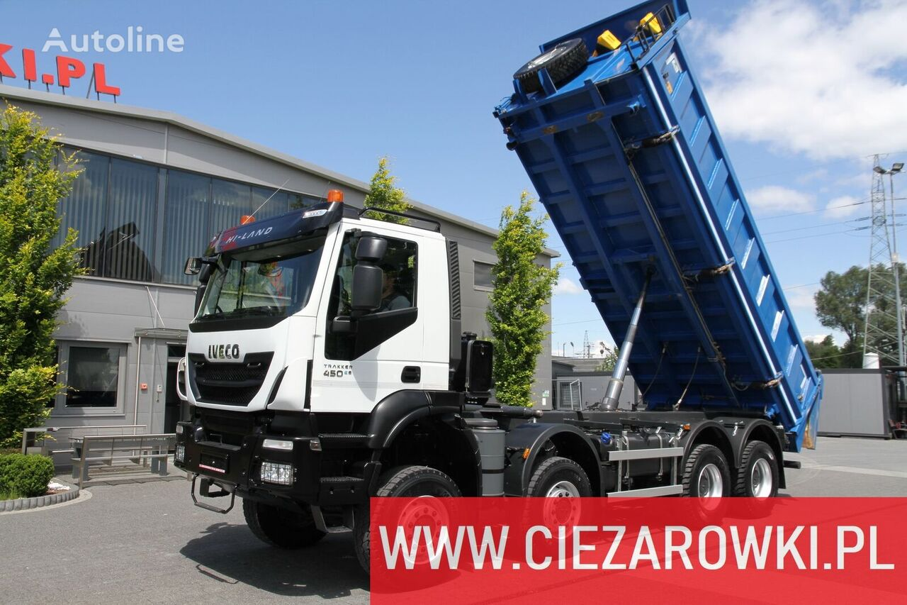 IVECO Trakker , 8x8 , E6 , Retarder , manual, 2018 , 10 units for sale tippbil