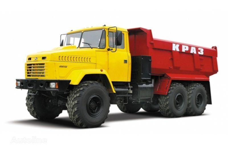 ny KRAZ 65032 tip 3  tippbil