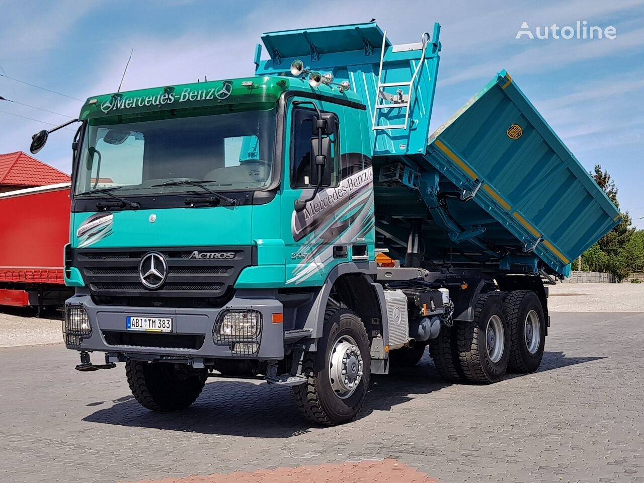 MERCEDES-BENZ Actros MP2 3341 6X6 BORDMATIC EPS 2007 tippbil