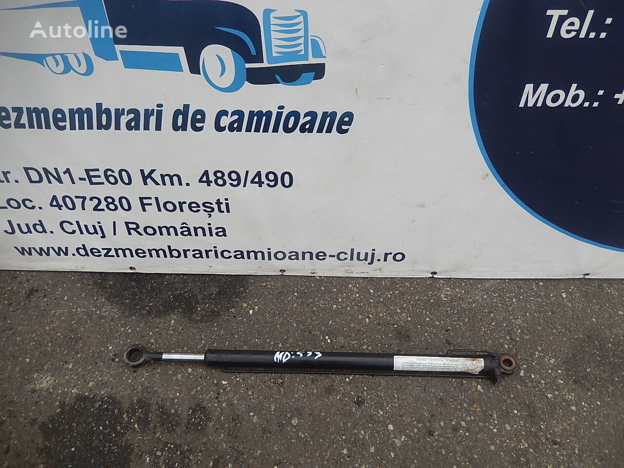 MAN Cilindru rabatare cabina Tgx 2008 / M112/533 / 819781222 pumpe løfte førerhuset for MAN TGX trekkvogn