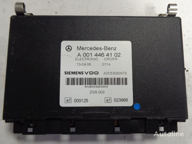 MERCEDES-BENZ electronic CPC FR control unit A (WORLDWIDE DELIVERY) styreenhet for MERCEDES-BENZ Actros trekkvogn