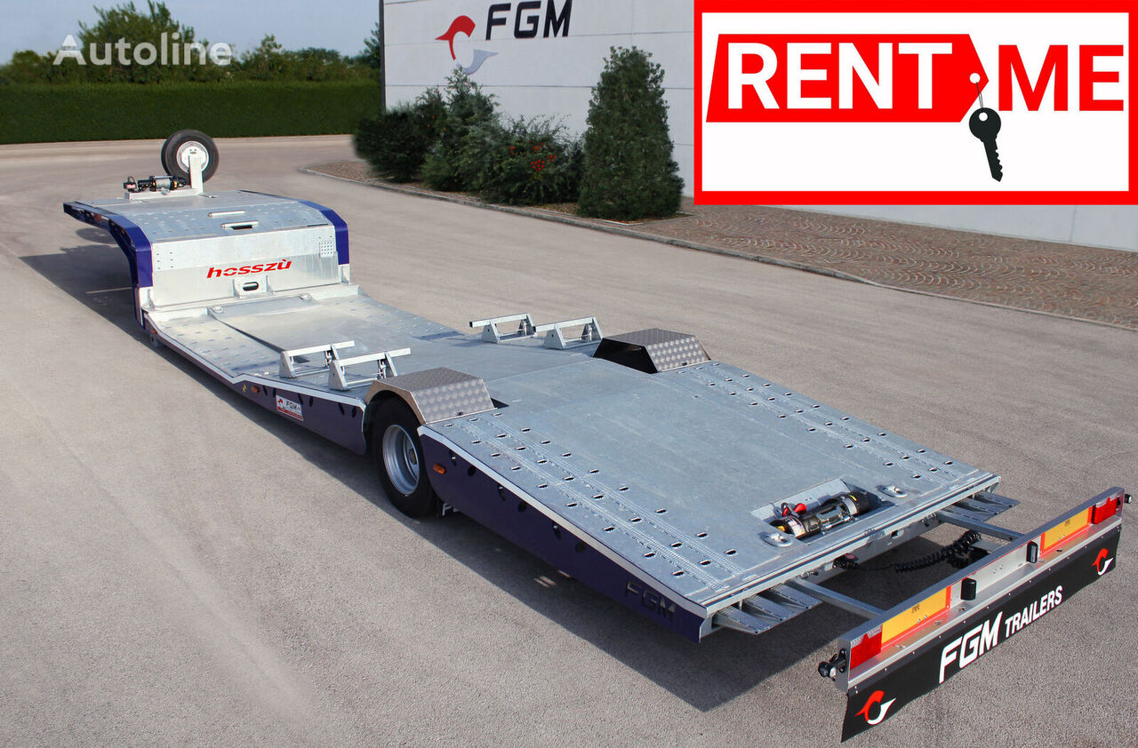 ny FGM 19 semitrailer biltransport