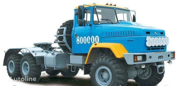 ny KRAZ 6446 trekkvogn