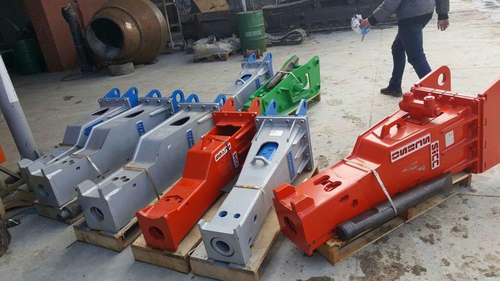ny HAMMER v nalichii HM 100/200/500/1000/1500/2900 hydraulisk hammer