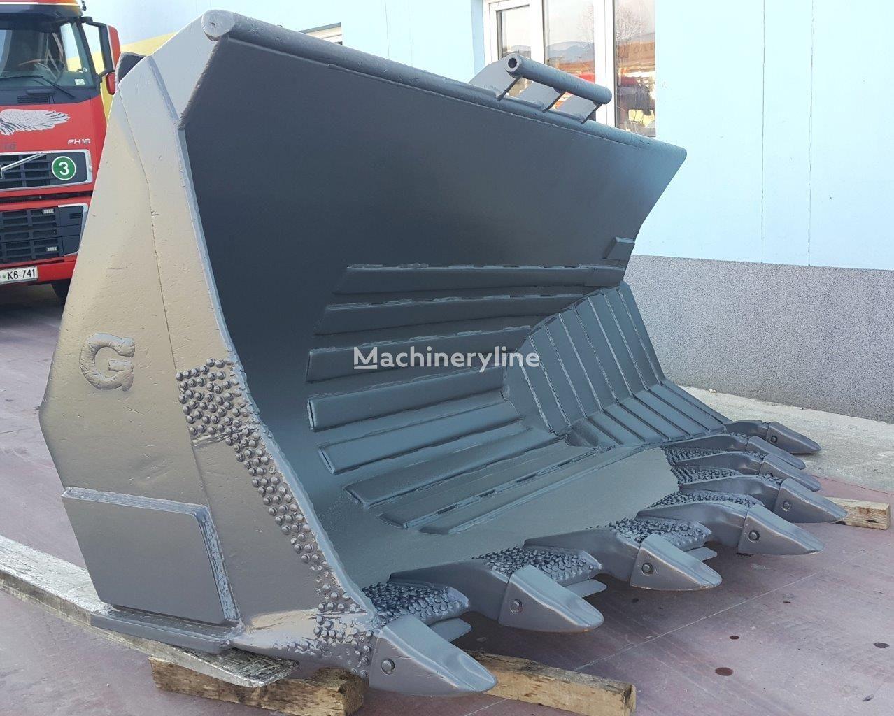 VOLVO  L180 side tipping bucket skuffe til hjullaster